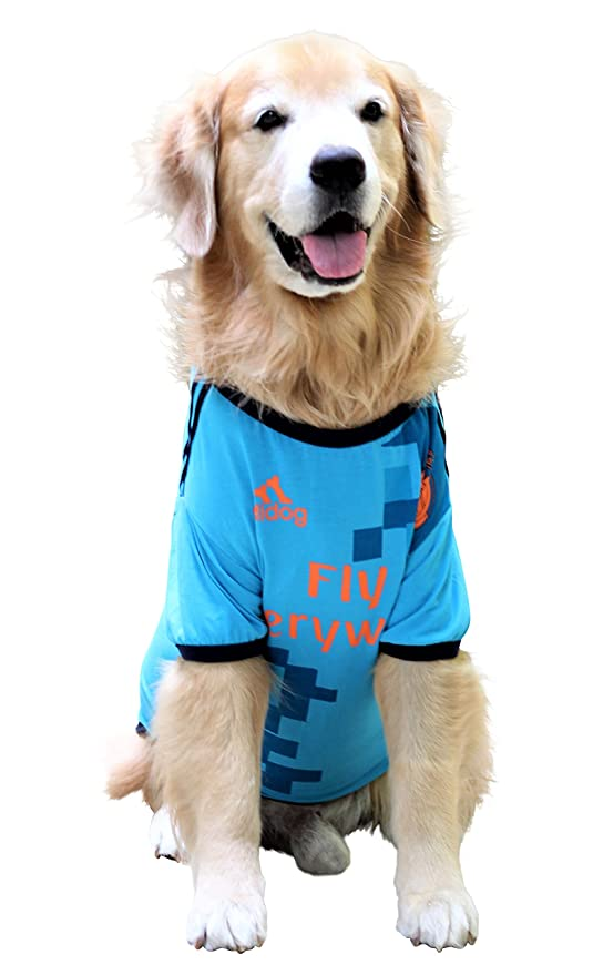 a6fd90311b04 Doxters S22 Dog Summer T Shirt Athletic Blue Football Jersey Size 22 ...
