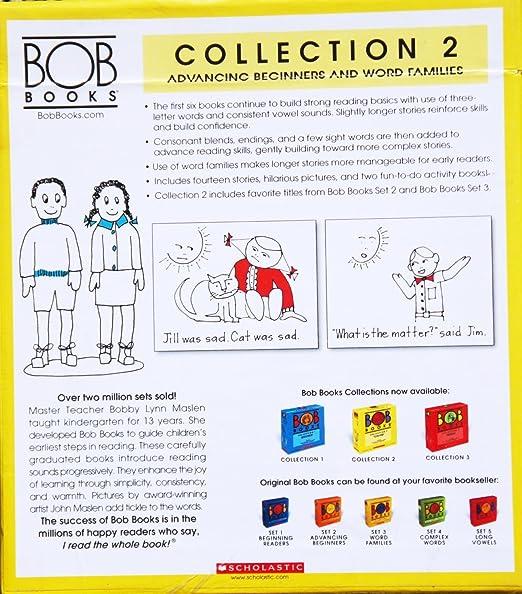 Amazon.com: BOB Books COLLECTION 2 Box Set [ADVANCING BEGINNERS ...
