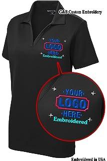 Men S Custom Golf Shirt Custom Embroidered Polo Shirt Golf Shirt At