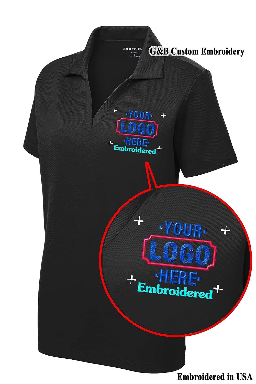 Womensladies Custom Polo Shirt Custom Embroidered Polo Shirt For