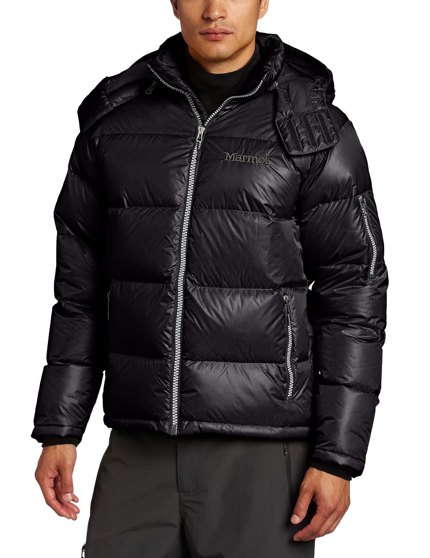 Marmot Herren Daunenjacke Stockholm Jacket, Black, XXL, 7208-001-7