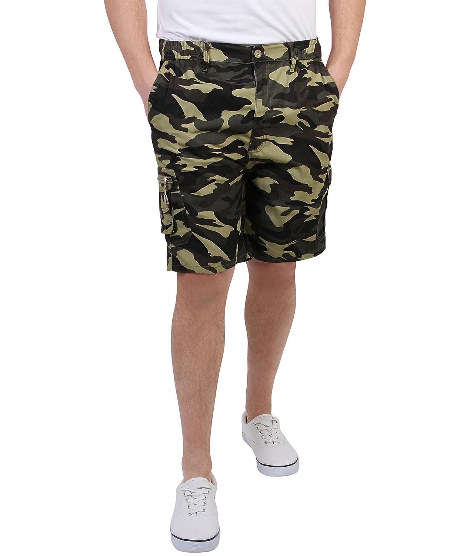 KRISP Mens Summer Cargo Camouflage Army Summer Shorts Size M-XXXL 7952