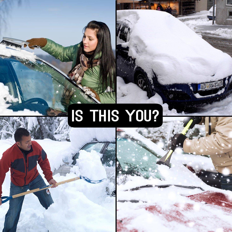 Protector Parabrisas Mture Cubierta de Parabrisas Antihielo y Nieve proteja bien el parabrisas del veh/ículode la escarcha y la nieve en invierno Plata 183*116cm