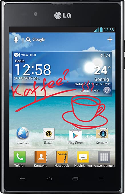 LG Optimus Vu - Smartphone libre Android (pantalla táctil de 5 ...