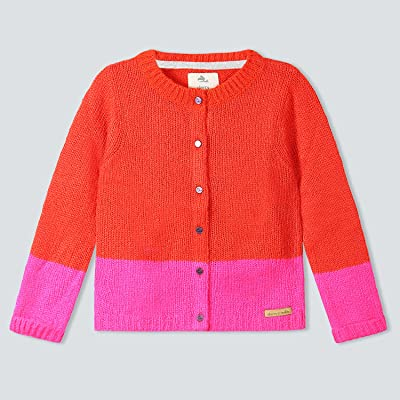 Cherry Crumble California Premium Color-Block Cardigan