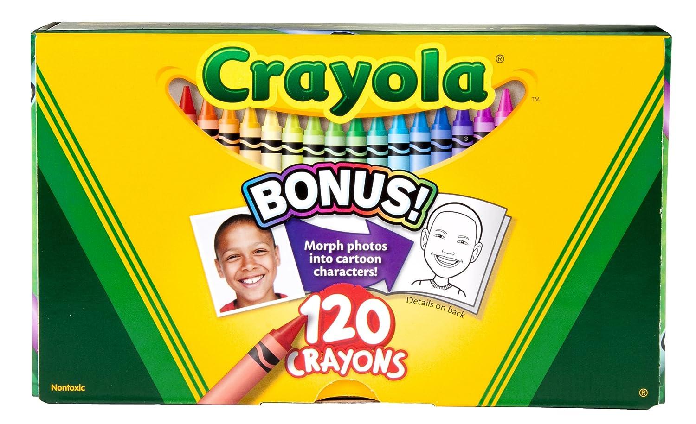amazoncom crayola 120ct original crayons toys games - Crayola Crayons Pictures