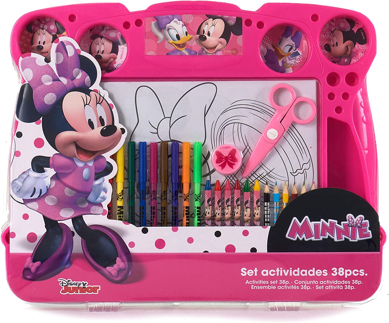 51356 Color rosa Ar- Minnie Set Actividad.Creativas 38 Piezas color//modelo surtido