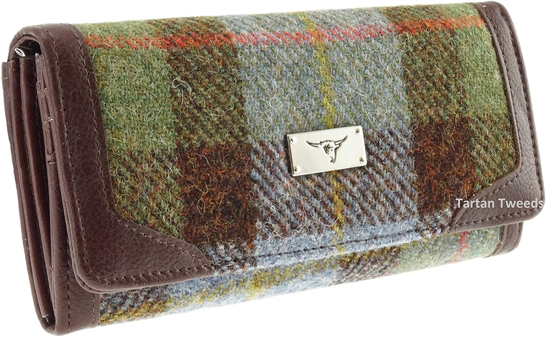 Women's Long Wallet Purse Harris Tweed LB2000