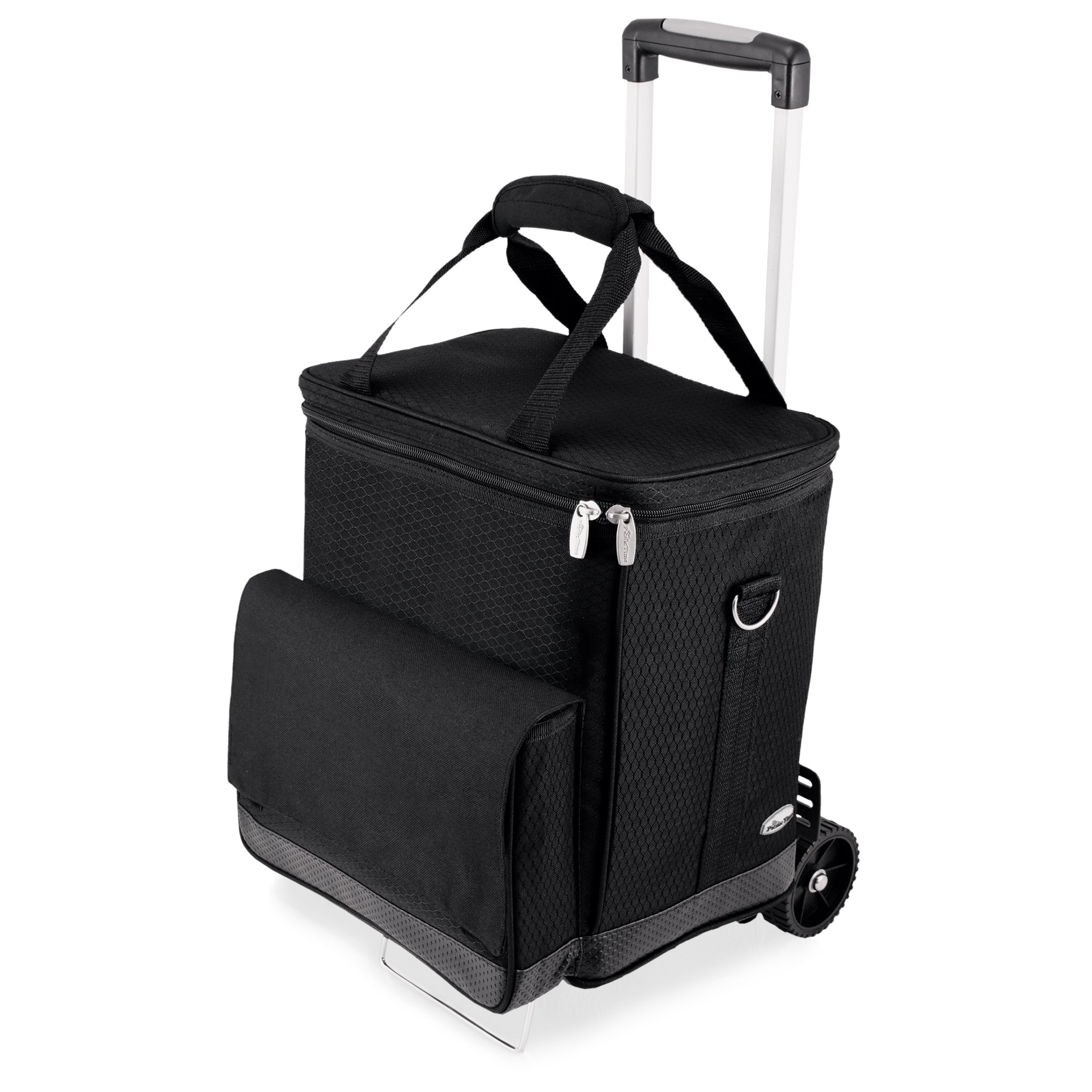 LEGACY - a Picnic Time Brand Cellar Insulated Six Bottle Wine Tote with Trolley by LEGACY - a Picnic Time Brand (Image #1)