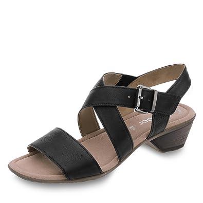 Fashion Offene Gabor Mit Keilabsatz Sandalen Damen jL35RA4