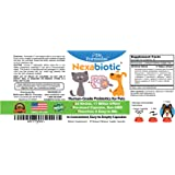 Dr. Formulas Nexabiotic Probiotics for Dogs and Cats - Flavorless, Pre-dosed, Easy to Mix - 23 Human-Grade Probiotics in 1, 17 Billion Organisms