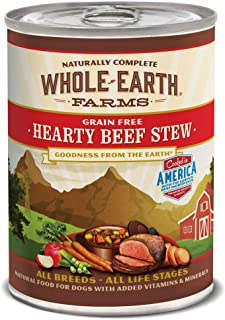 product image for Whole Earth Farms Grain Free All Breed All Life Stages Wet Dog Food (Case of 12)