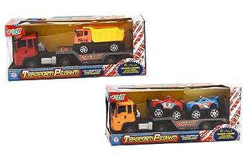 VISCIO TRADING Camiones Portauto embrague surtidos con camiones Mini Quad /: Amazon.es: Juguetes y juegos