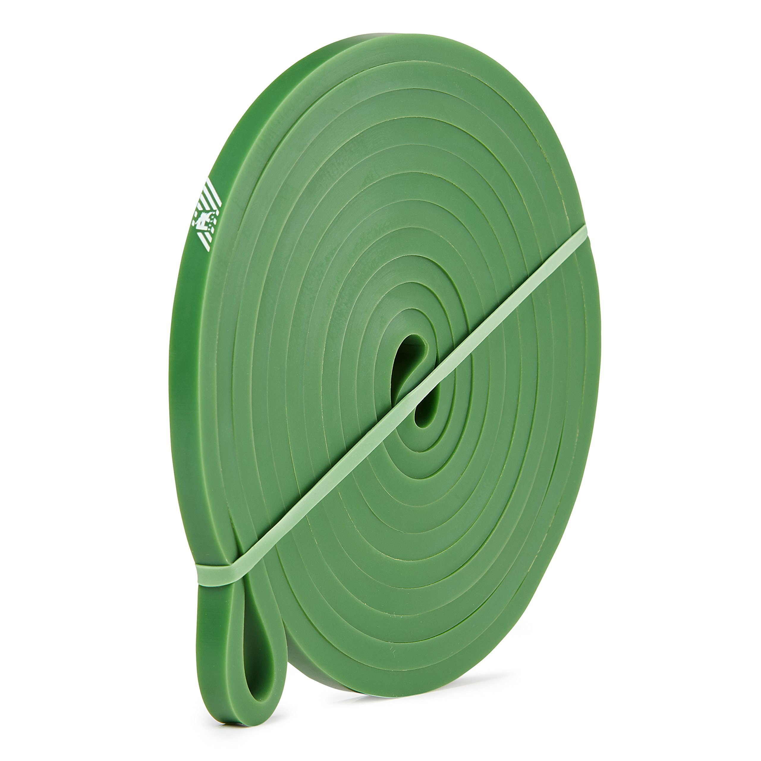 Pull Up Assistance Bands - Resistance Bands for Assist Chin Ups - Exercise Bands for Crossfit Fitness Powerlifting Weight - Power & Weight Lifting for Men Women - Heavy Gym Latex Elastic - Green