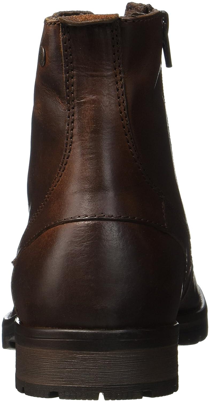 8432fd9820ed Jack   Jones Jfworca Leather Brown Stone Bottes Classiques Homme   Amazon.fr  Chaussures et Sacs