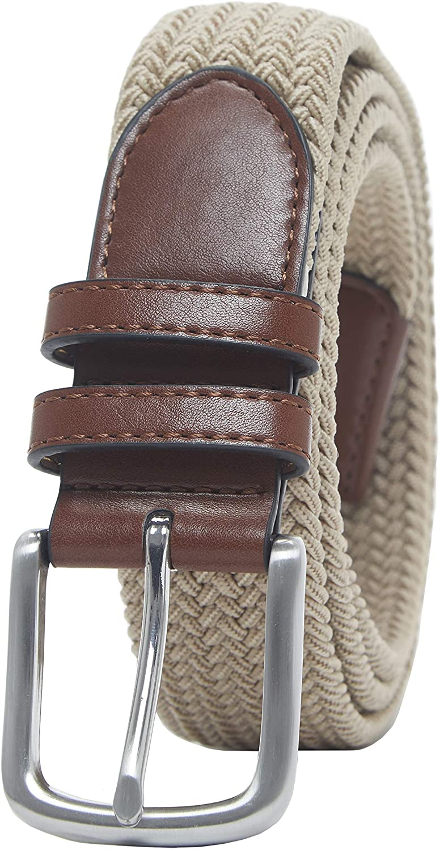 Amazon Essentials – Cinturón trenzado elástico para hombre