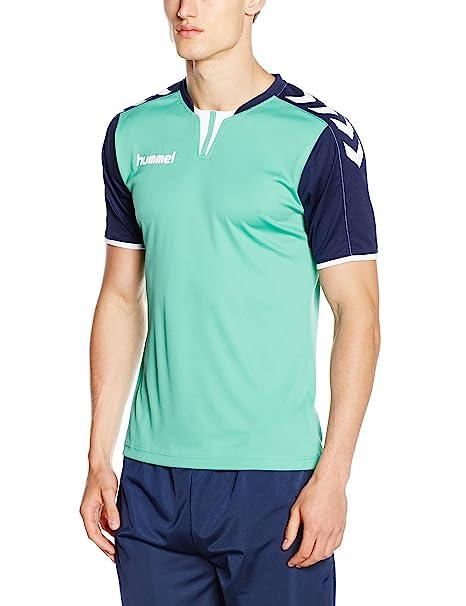 hummel - Maillot para Hombre Core Short Sleeve Poly Jersey: Amazon ...