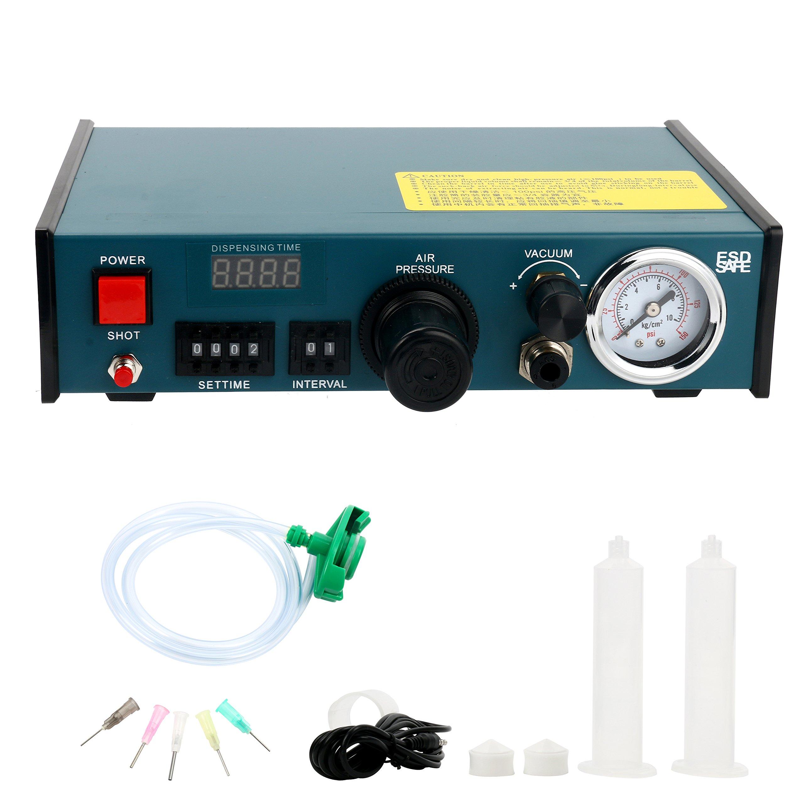 Digital Display Auto Glue Dispenser Solder Paste Liquid Controller Dropper 983A by YaeCCC (Image #5)