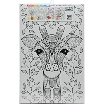 Amazon.com: Zorbitz 2618 Joy of Coloring Adult Coloring Posters 11 ...