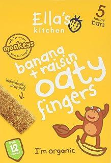 596a775ced956 Ella s Kitchen Organic Bananas and Raisins Nibbly Fingers 125 g ...