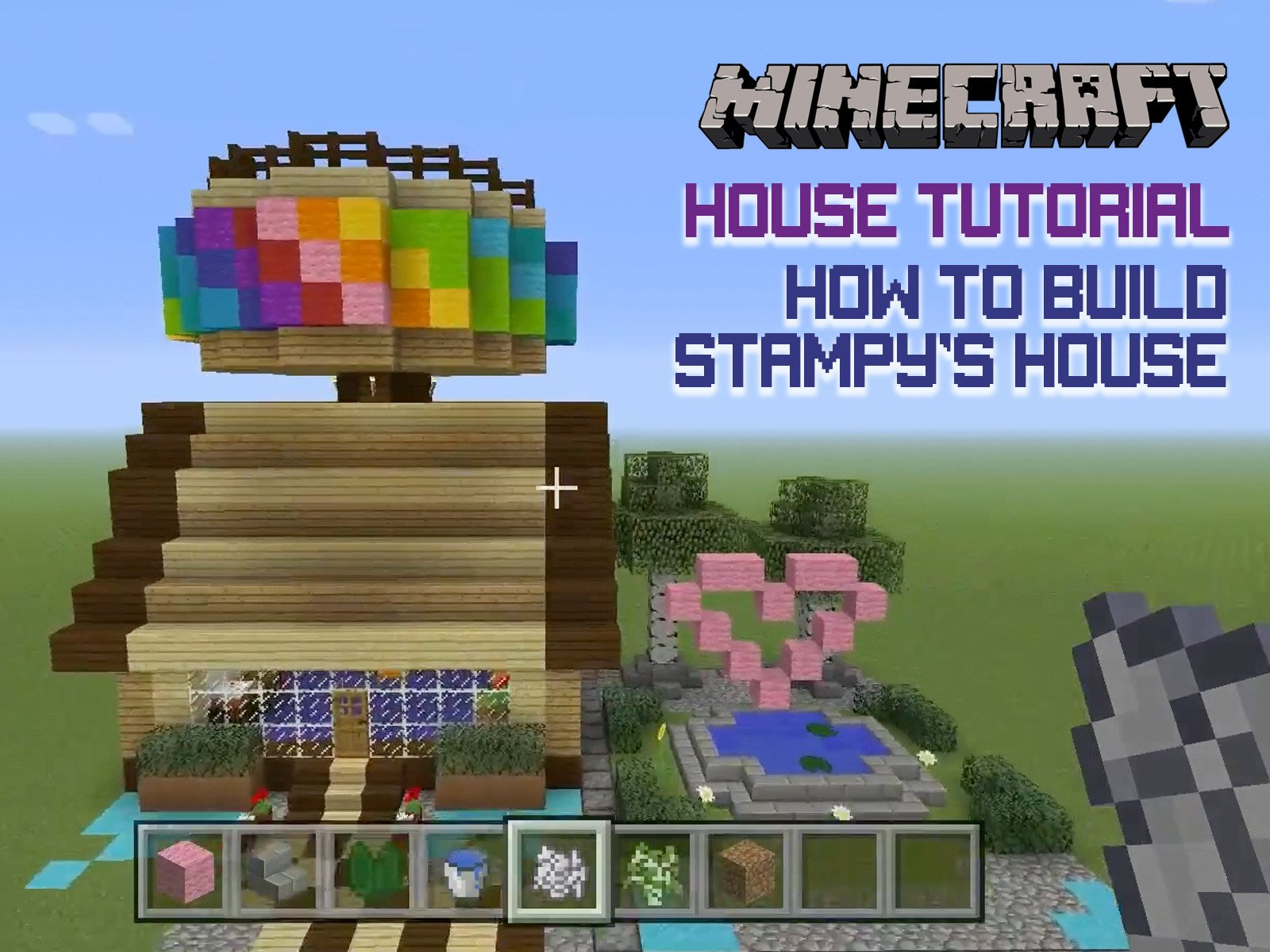 Amazon minecraft house tutorial how to build stampys house amazon minecraft house tutorial how to build stampys house dad plays games baditri Image collections