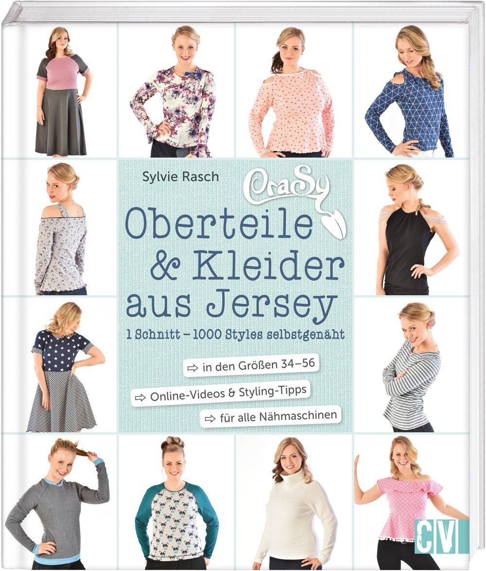 CraSy Oberteile   Kleider aus Jersey  9783841065247  Amazon.com  Books 5a710f84de