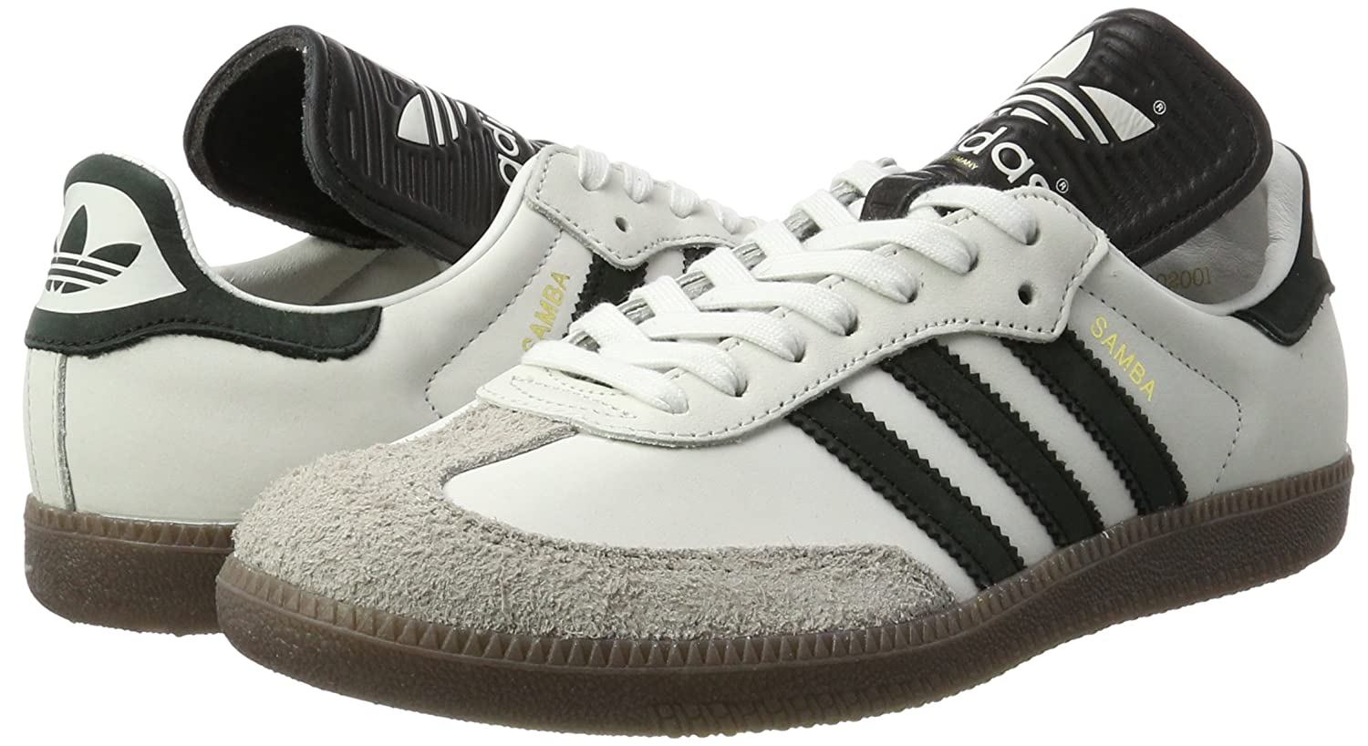 classic fit 01bf1 be7df adidas Samba Classic OG Mi, Sneakers Basses Homme  Amazon.fr  Chaussures et  Sacs