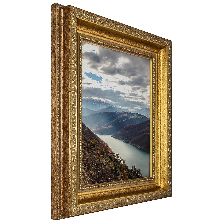 Craig Frames 写真用額縁 装飾仕上げ 幅 0.75~2 インチ カラーと仕上げは各種取り揃え 11 x 14 ゴールド 66071114AC B005PNTLDE 11 x 14,2