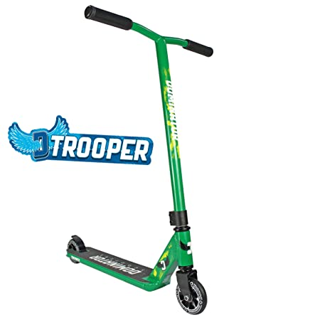 Dominator Trooper Pro Scooter - Best Advanced Level Intermediate/Expert Pro Scooter - for Kids Ages 8+ and Heights 4.0ft-6.5+ft