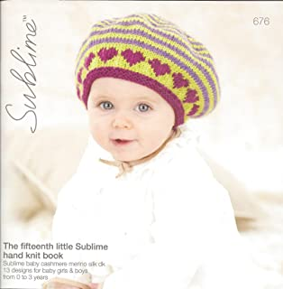 cae738202 Sulblime Knitting Pattern Book 704 - The Nineteenth Little Sublime ...
