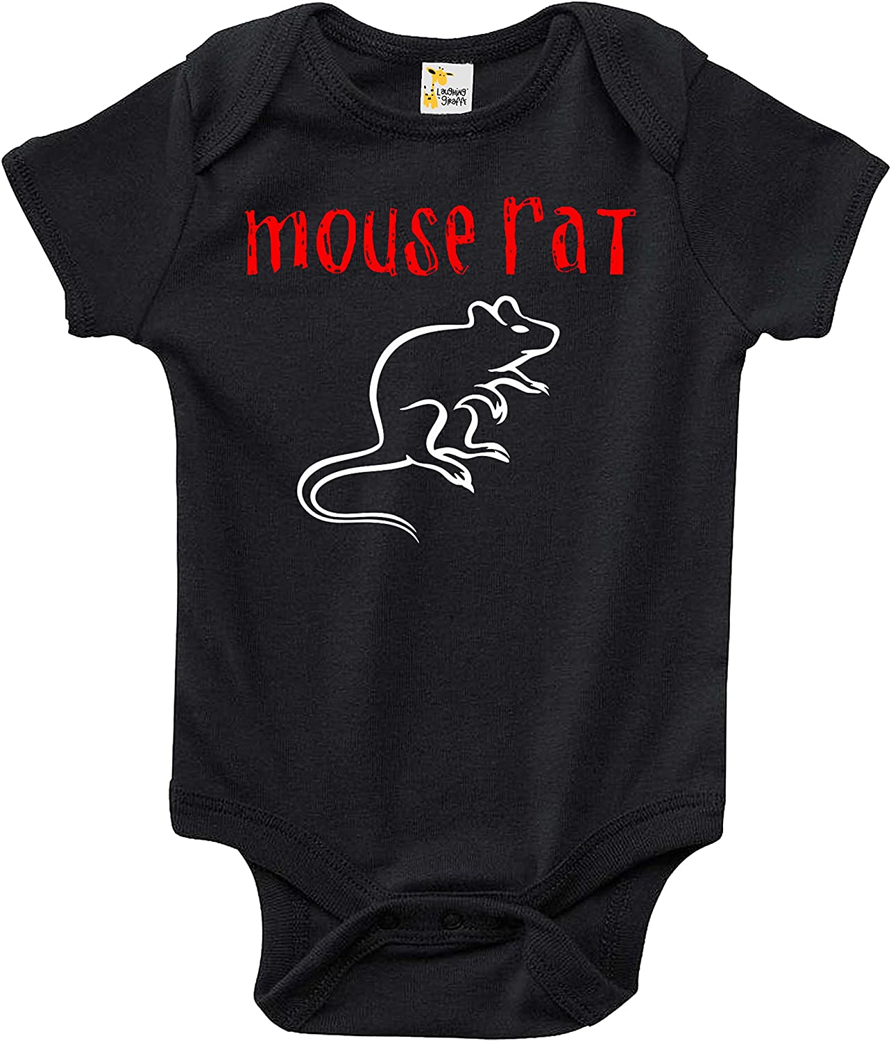 Baby Bodysuit Mouse Rat Baby Clothes for Infant Boys and Girls