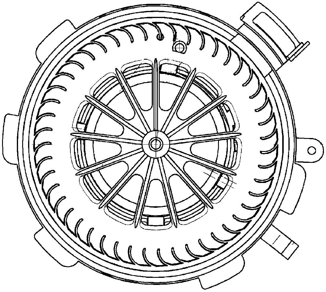 Behr Hella Service 351034071 HVAC Blower Motor Mercedes Benz Sprinter