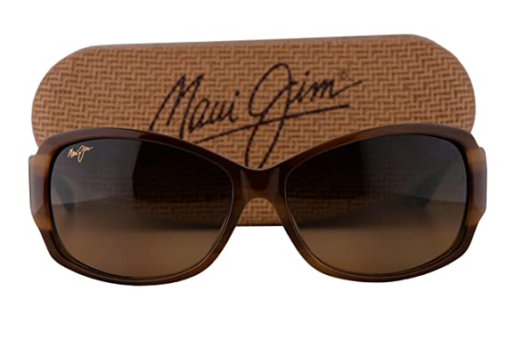 cae92a548df3 Amazon.com  Maui Jim Nalani Sunglasses Tortoise w Polarized HCL Bronze Lens  29503T  Clothing