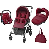 Bébé Confort Poussette Combinée Trio Streety Next - Robin Red - Collection 2016