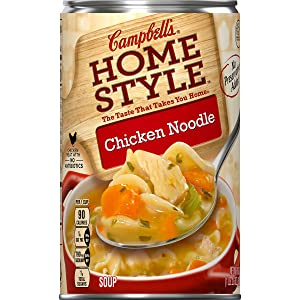 Campbell's Homestyle Chicken Noodle Soup, 18.6 oz.
