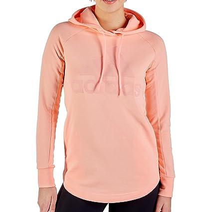 1e01e7f9d235e1 adidas Damen W Sid Oh Hoodie-Hazcor/Cleora Pullover & Sweatshirts ...
