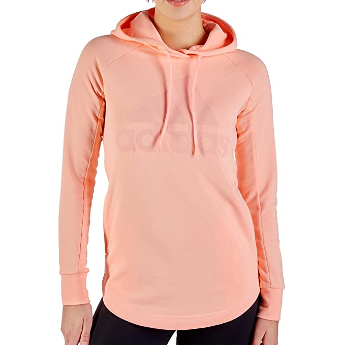 lower price with online here many fashionable adidas Damen W Sid Oh Hoodie-Hazcor/Cleora Pullover & Sweatshirts