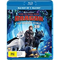 How to Train Your Dragon: The Hidden World 3D (Blu-ray 3D/Blu-ray/Digital)