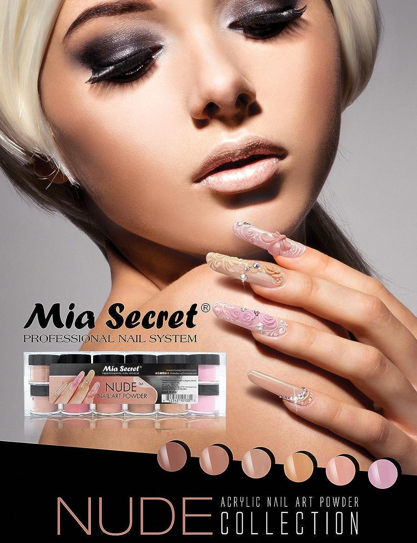 Mia Secret Polymer ACRYLIC POWDER Nude 6 pcs - It Works W Acrylic Dip System