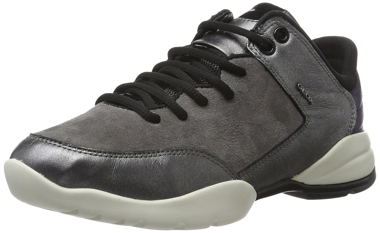 Geox D Sfinge a, Zapatillas para Mujer 36 EU|Grau (Dk Grey/Gunc9f1g)