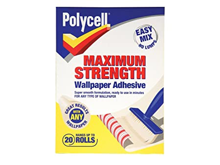 Polycell MSWPA20R Maximum Strength Wallpaper Paste 20 Roll
