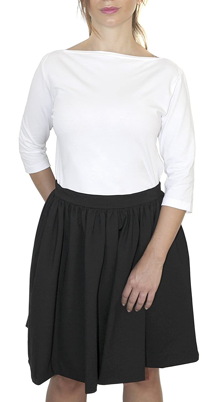 CATOMO Women's Skirt black black