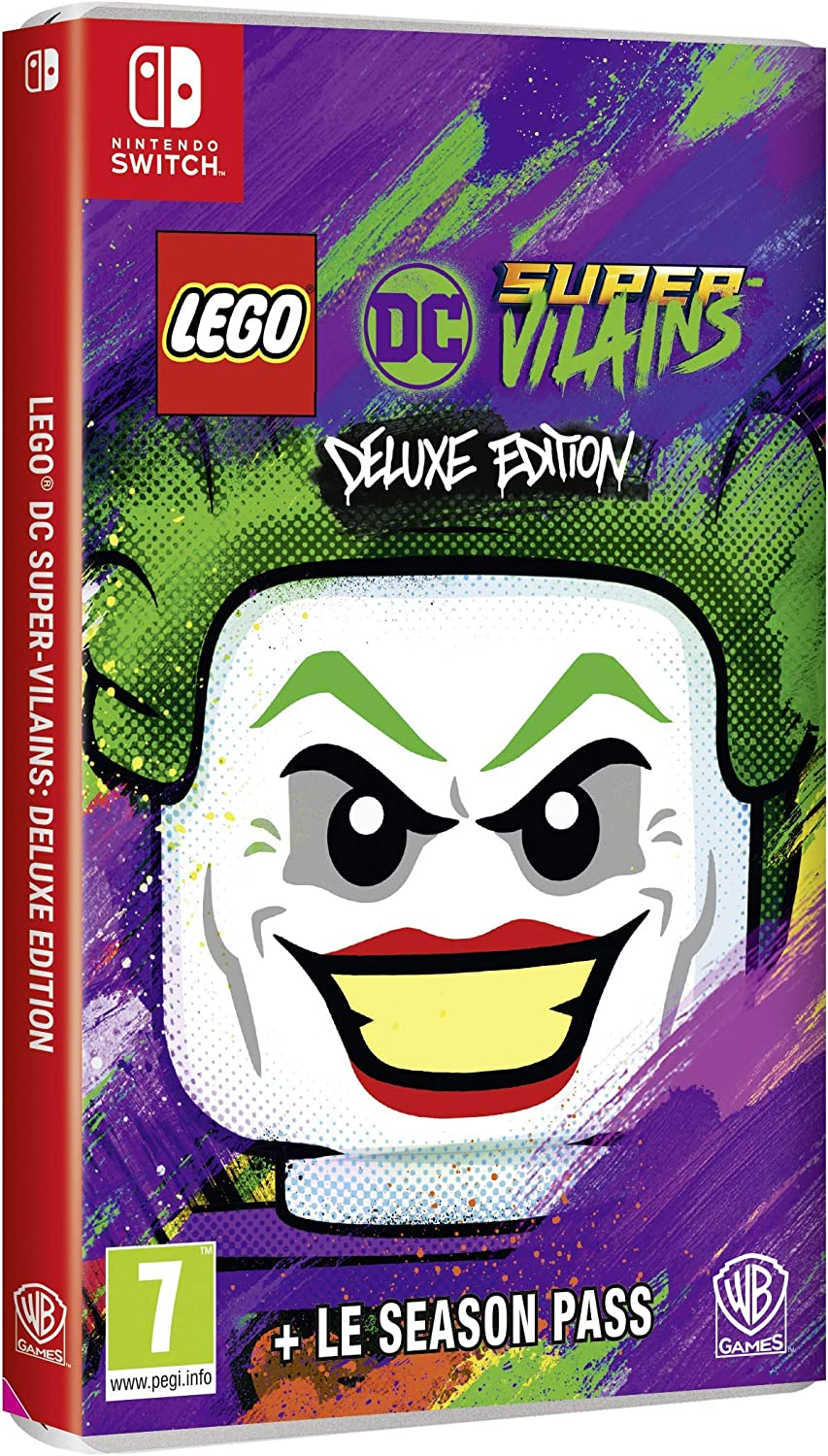 LEGO DC Sup-V Del. �d. Switch: Amazon.es: Videojuegos