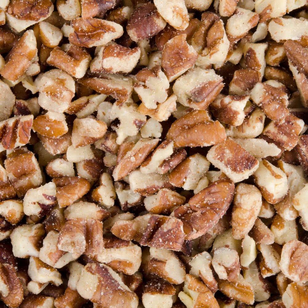 TableTop King Medium Pecan Pieces, Raw - 30 lb. by TableTop King
