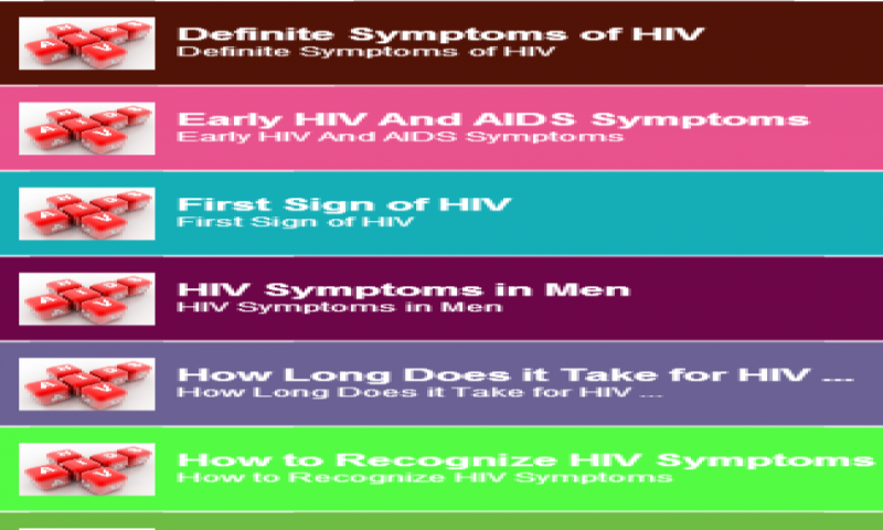 Amazon com: HIV Symptoms Guide: Appstore for Android