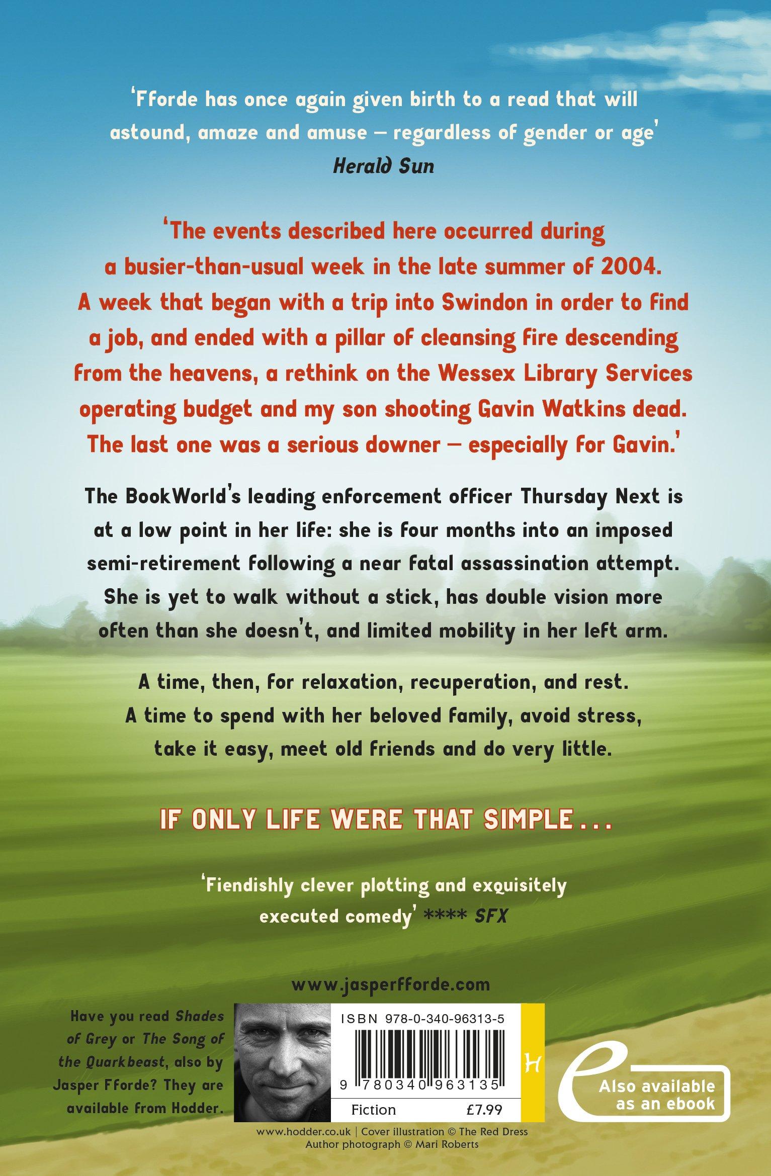 The Woman Who Died A Lot: Thursday Next Book 7: Amazon: Jasper  Fforde: 9780340963135: Books