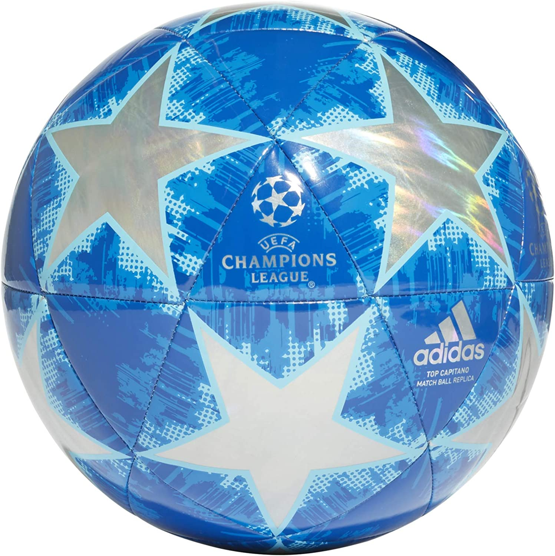 adidas Champions Finale 18 Top Capitano Balón, Hombre, Azul, 5 ...