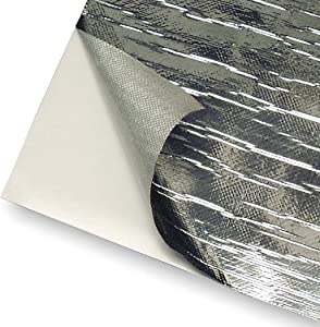 "Design Engineering 010462 Reflect-A-Cool Heat Reflective Adhesive Backed Sheets, 24"" x 24"""