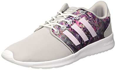 988e135f4fd1 adidas Women s Cloudfoam Qt Racer W Sneaker Low Neck  Amazon.co.uk ...