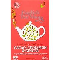 English Tea Shop Organic Cacao, Cinnamon and Ginger, 20 Teabags